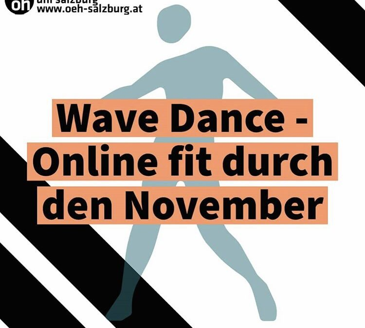 Wave Dance – Online fit durch den November