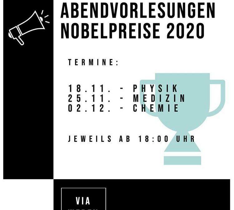 Abendvorlesungen Nobelpreise 2020