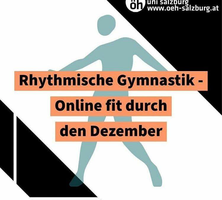 Rhythmische Gymnastik- Online fit durch den Dezember